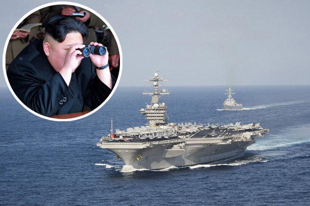 Us Warships Near Korea