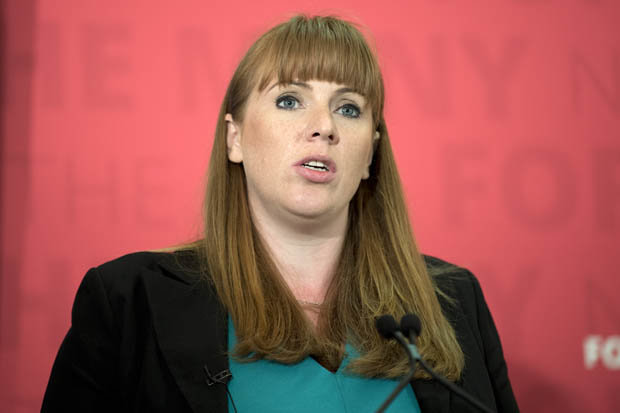 Labours shadow education secretary Angela Rayner