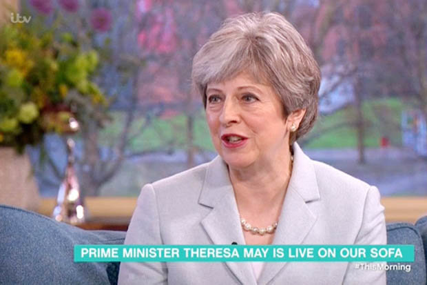 Theresa May's This Morning appearance was panned
