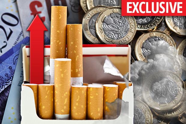 cigarette uk price autumn budget
