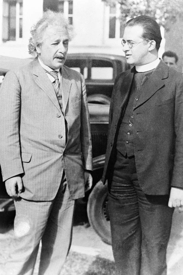 Georges Lemaître and Einstein
