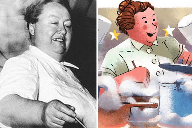 Eugénie Brazier Google Doodle