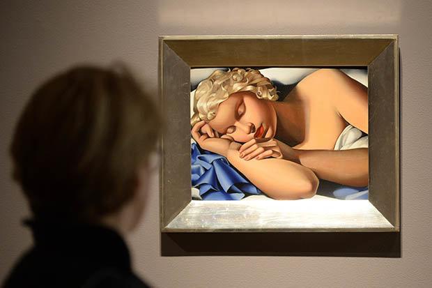 Tamraa de Lempicka paintings
