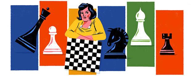 Lyudmila Rudenko Google Doodle