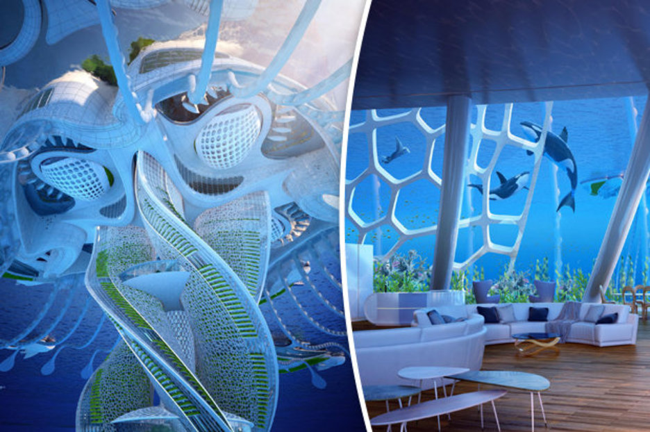Underwater Skyscraper Will Allow 20000 People To Live