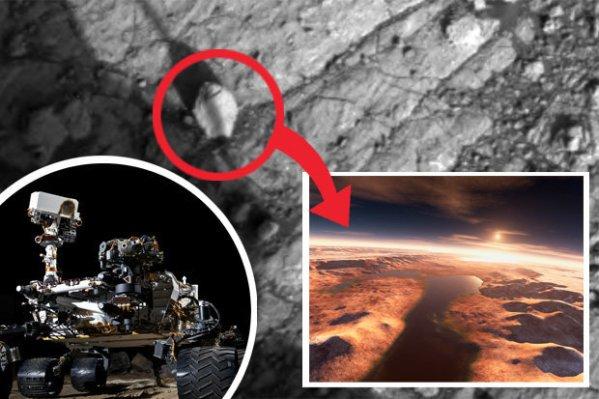 NASA photos 'proof of ancient alien sea on Mars' claims ...