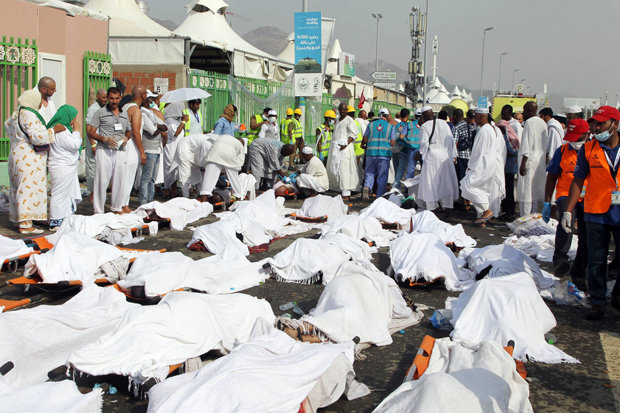 Casualties of the Hajj stampede