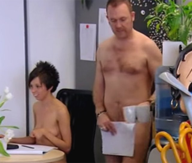 Office Workers Onebestway Strip Off For Naked Friday