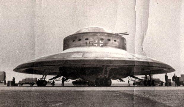 Nazi flying saucer