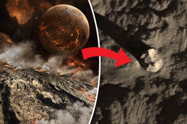 Alien news: Unexplained crash sites on the moon PROVE ...