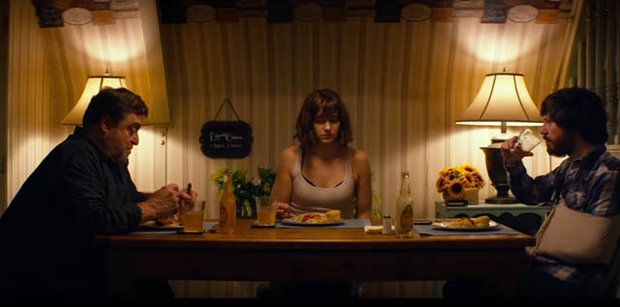 Image result for 10 cloverfield lane dinner scene