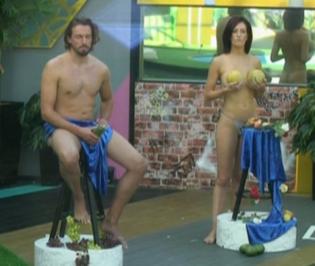 Celebrity Big Brother Features Even More Nudity As Two Pose Completely Naked