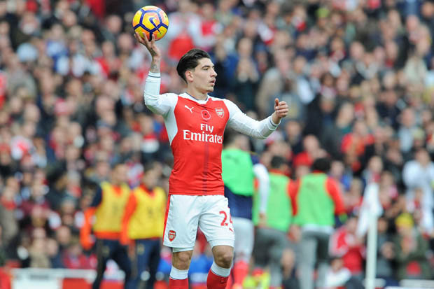 Image result for Hector Bellerin signs new six-year deal with Arsenal