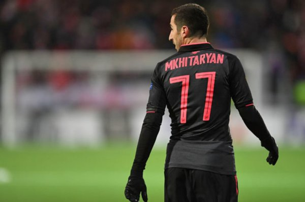 Arsenal news: Why was Henrikh Mkhitaryan wearing No.77 in ...
