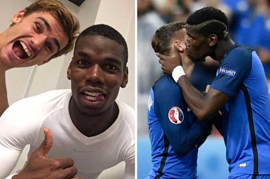 Man Utd Transfer News Could Pogba Tempt Griezmann To Old