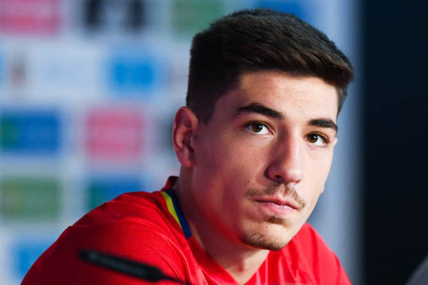 Barcelona are ready to make a raid for Hector Bellerin