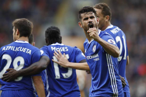 Image result for Hull 0-2 Chelsea: Willian & Diego Costa deliver late win for Conte's men