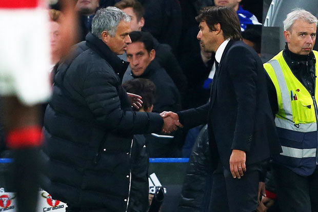 Image result for mourinho conte