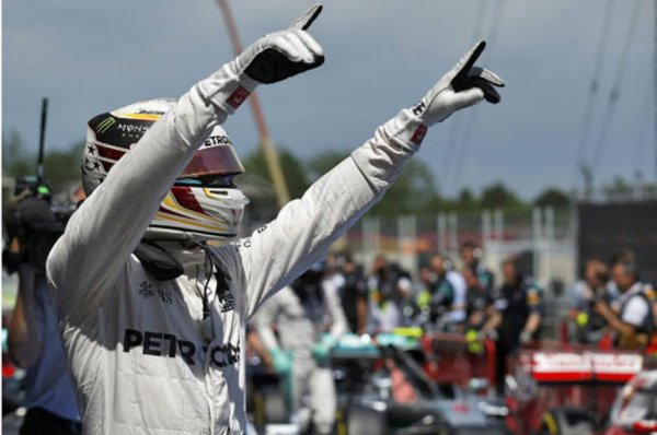 Lewis Hamilton: Mercedes man on pole for Sunday's Spanish ...