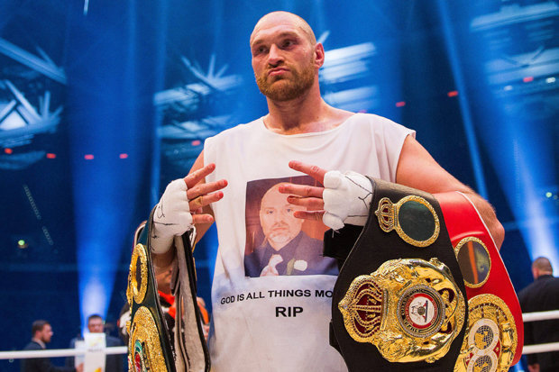 Image result for Tyson Fury does u-turn on retirement claim