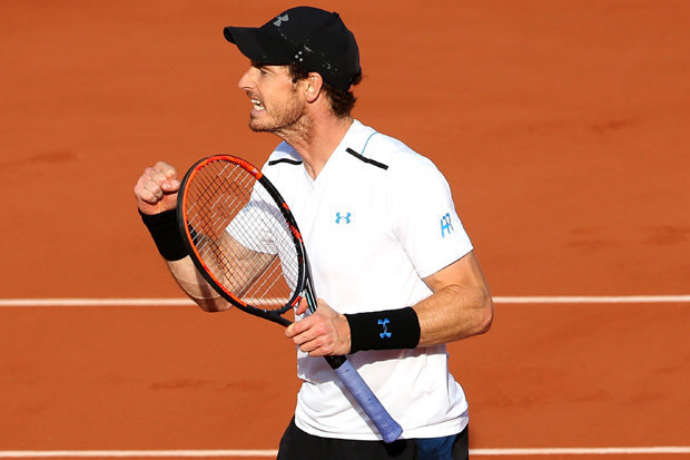 Image result for andy murray 2017 french open