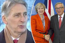 Philip Hammond EU Brexit transitional deal hint