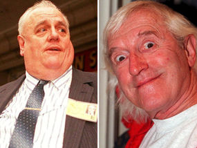 Cyril Smith met the Savile at a medieval banquet and appeared on his show Clunk Click