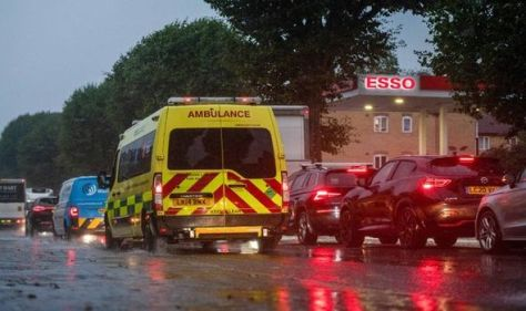 'Absolutely exhausted' paramedic hits out at fuel stockpiling and 'aggressive' public