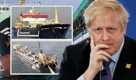 Disbelief as EU supertrawler 'longer than football pitch' free to ransack Brexit Britain