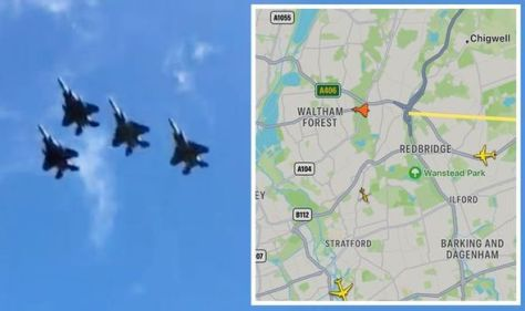Fighter jets over London and Essex spark panic - 'Thought we were under attack!'