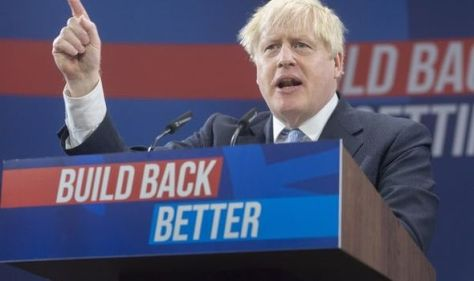 Boris hails JCB for £100m investment into hydrogen engine to 'help reach climate targets'