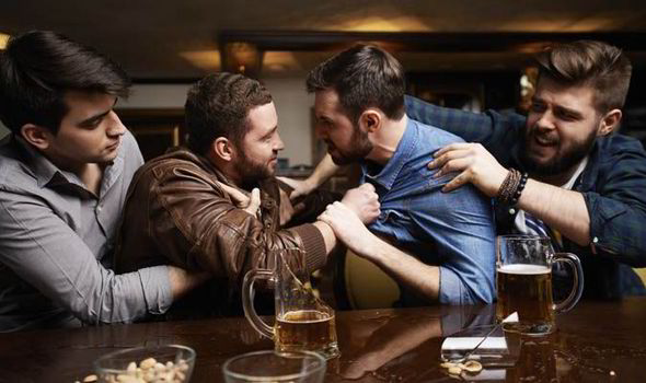 Image result for drunken fight