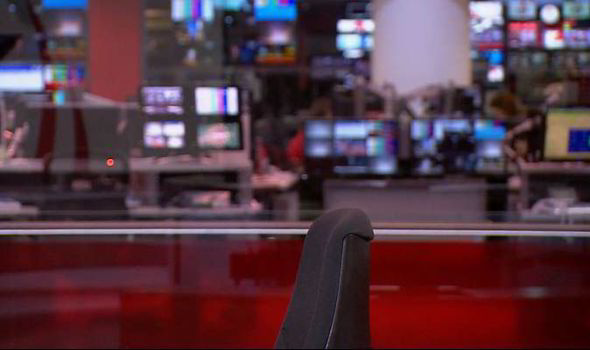 BBC News broadcast begins with empty chair as presenter is ...