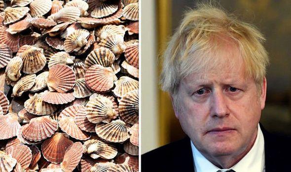 Boris Johnson seafood