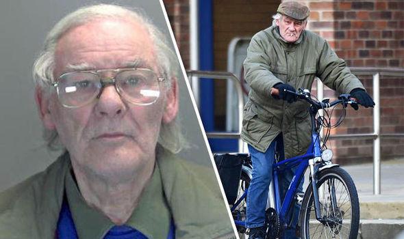 Colin Waterfield on a bike