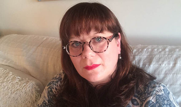 Elaine Hanby wearing glasses