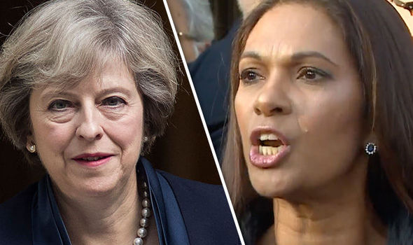 Gina Miller Theresa May