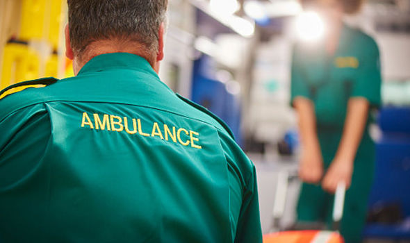 Inspectors raised concern over the ambulance NHS