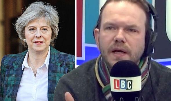 James O'Brien and Theresa May