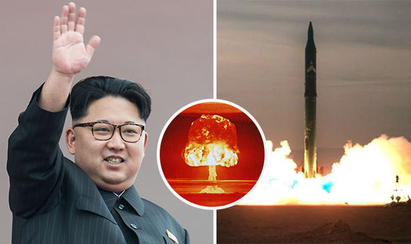 Image result for north korea nuclear war