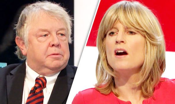 Nick Ferrari and Rachel Johnson