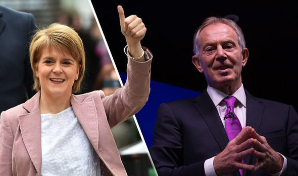 Sturgeon and Blair