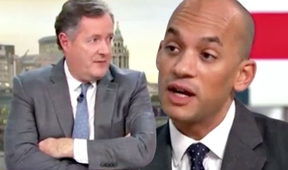 Piers Morgan and Chuka Umunna