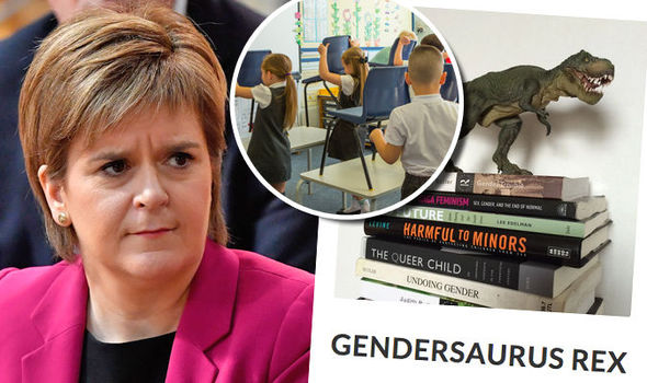 Ms Sturgeon's government is funding a controversial programme for children
