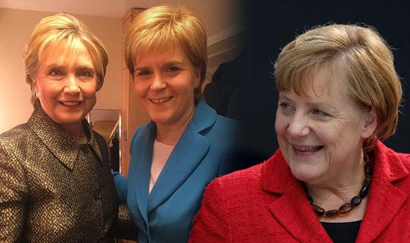 Sturgeon Clinton Merkel