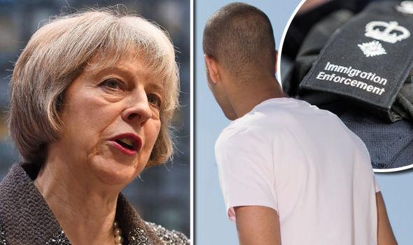 Somalian man - Theresa May