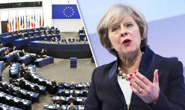 Theresa May EU Human Rights