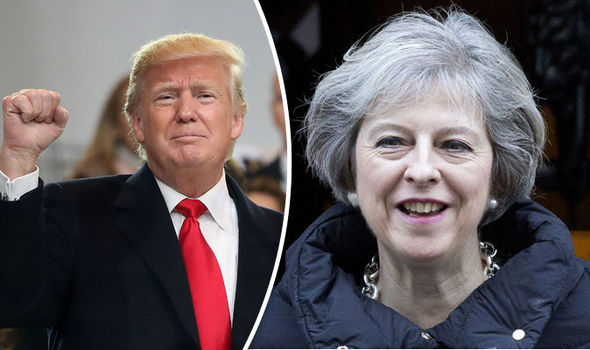 Theresa May set to meet Donald Trump next week