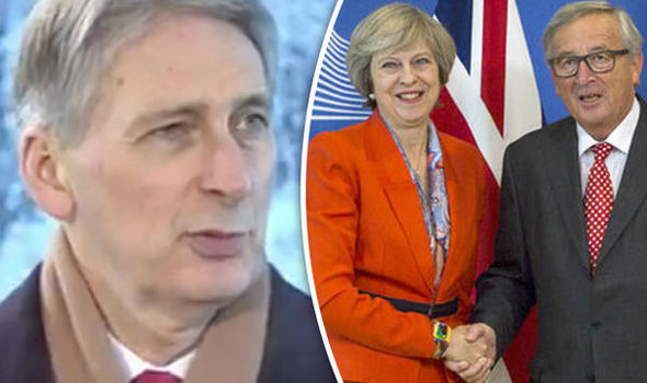 Philip Hammond Theresa May