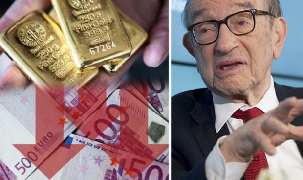 The Euro is on the verge of collapse says Greenspan